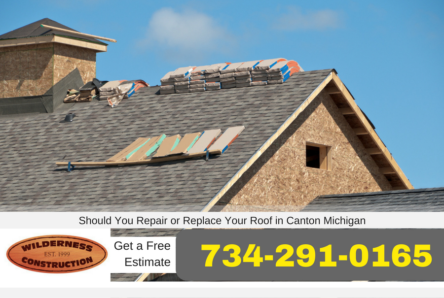 Should You Repair or Replace Your Roof in Canton Michigan