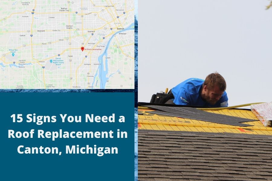 Roof Replacement in Canton Michigan