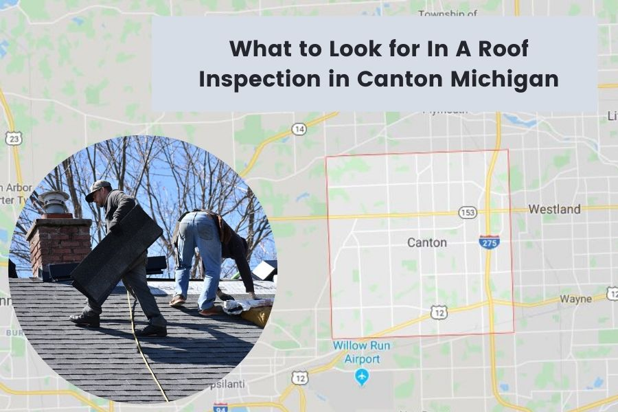 Canton MI Roof Inspection